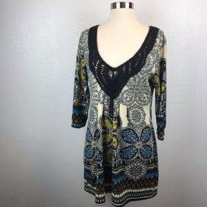 Aryeh Dresses - ❤️ Aryeh Boho Mini Dress Size Medium